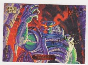 1994 Marvel Masterpieces Gold Foil Signature Series #127 Tyrant/Hildrebrandt