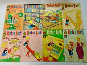 Silver Age Richie Rich Harvey Comic Lot 20 Different 4.0 VG