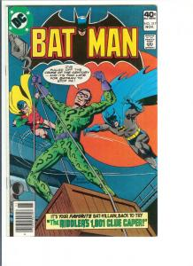 Batman #317 - Bronze Age - Nov, 1979 (VF+)