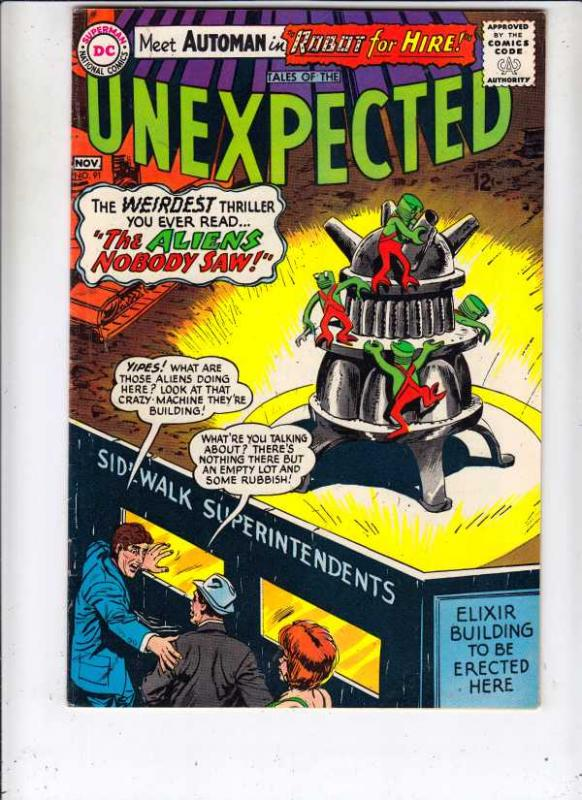 Tales of the Unexpected #91 (Nov-65) VF/NM High-Grade
