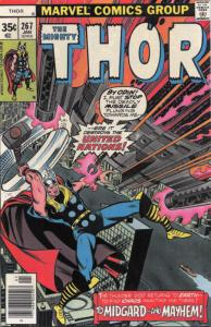 Thor #267 VF/NM; Marvel   save on shipping - details inside
