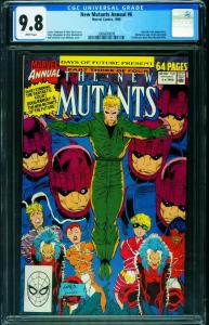 New Mutants Annual #6 CGC 9.8 First Shatterstar 2006680009