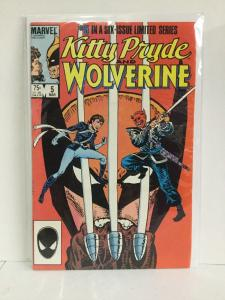 Kitty Pryde And Wolverine 5 Nm Near Mint Marvel Comics