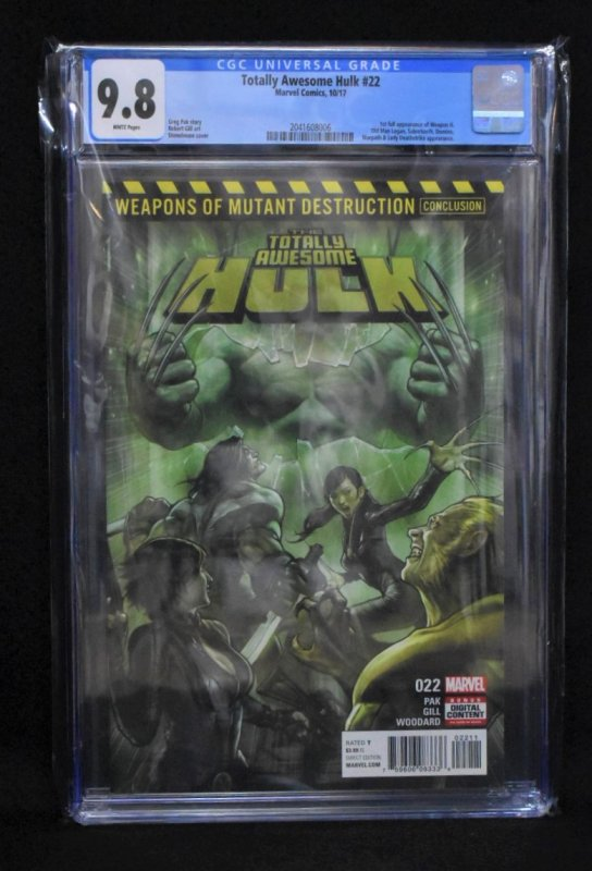 Totally Awesome Hulk #22 (Marvel, 2017) KEY - 1st Weapon H