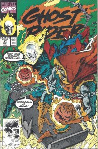 Ghost Rider #17 (Sept 1991) - co-starring Spider-Man - versus Hobgoblin