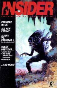 Dark Horse Insider (1992 series) #1, VF+ (Stock photo)