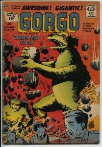 Gorgo #7 1967-Charlton-based on the MGM horror film-VG