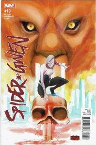 Spider-Gwen #10 (2016 v2) Jason Latour Kraven the Hunter NM