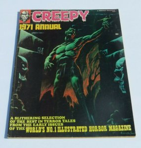 Creepy 1971 Annual FN Horror Magazine Scary Strange Haunted Crazy Spooky Mad