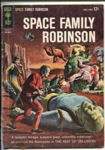 SPACE FAMILY ROBINSON #5 1963-GOLD KEY-LOST IN SPACE-MONSTERS ATTACK-good/vg