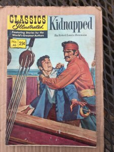 Classics Illustrated Kidnaped