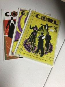 Cowl 8 9 10 Lot Nm Near Mint Image Comics