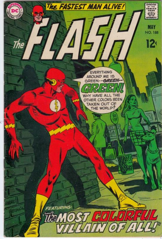 Flash, The #188 (May-69) VF+ High-Grade Flash