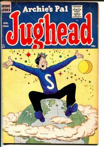 Archie's Pal Jughead #57 1960-MLJ-Betty-Veronica-John Russell-Lawman-VG+