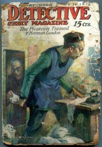 Detective Story Pulp December 16 1932- Picaroon Framed- Asian Menace FAIR
