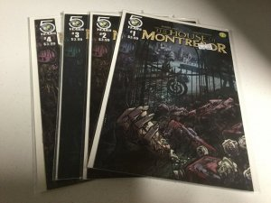 The House Of Montresor 1-4 Nm Near Mint Action Lab Comics