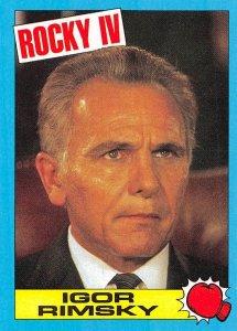 1985 Topps Rocky IV #7 Igor Rimsky