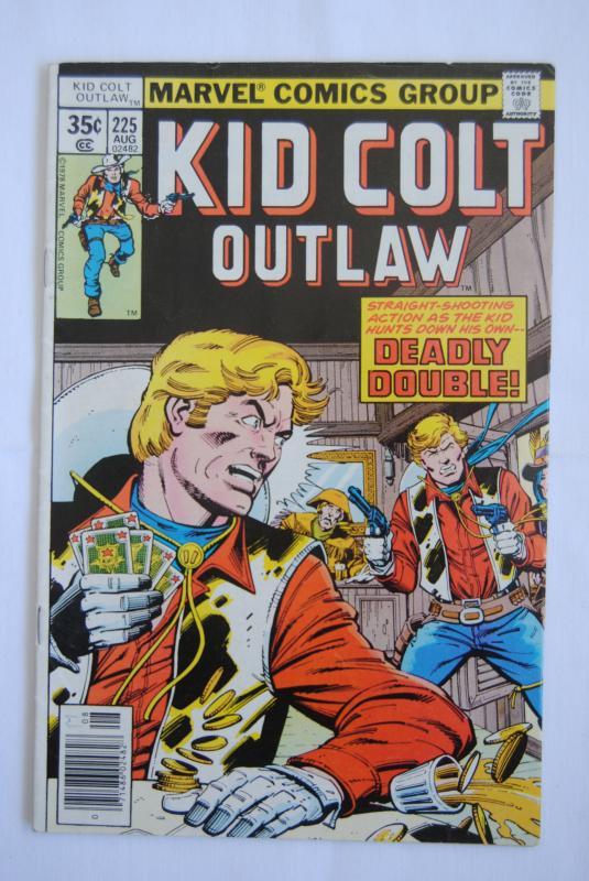 Kid Colt Outlaw #225