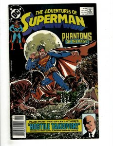 12 Adventures of Superman DC Comics 453 454 457 458 459 460 461 462 463 + HG1