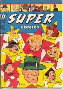 Super #87 1945-Dell-Dick Tracy-Little Orphan Annie-Harold Teen-Moon Mullins-FN+