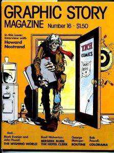 Graphic Story Magazine #16 1974-Howard Nostrand-pre-code horror-Wolverton-VF