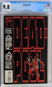 Deadpool #1 (1993) CGC Graded 9.8