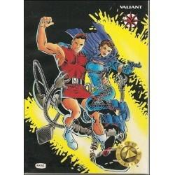 1993 Valiant Era MAGNUS ROBOT FIGHTER #15 - Card #16