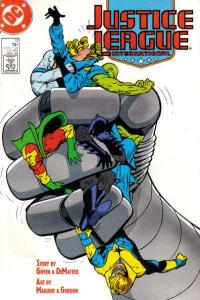 Justice League (1987 series) #11, NM- (Stock photo)