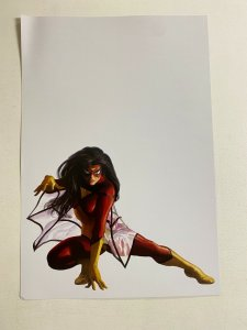 Spider-Woman Marvel Comics poster by Alex Ross