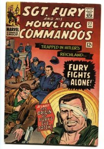 SGT. FURY AND HIS HOWLING COMMANDOS #27 Origin of Eye Patch 1965