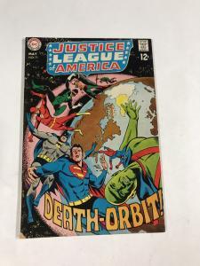 Justice League Of America 71 6.5 Fn+ Fine+ Dc Silver