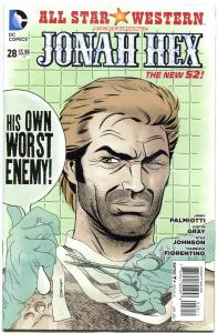 ALL STAR WESTERN #28, NM, Jonah Hex, Darwyn Cooke,Justin Gray,2011,more in store