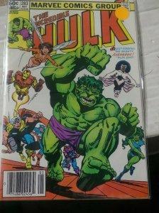 Incredible Hulk  # 283 1983 marvel   SHE HULK  +LEADER   IMMORTAL AVENGERS