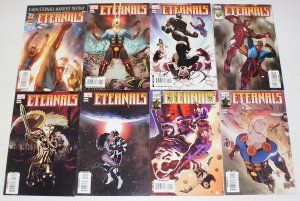 Eternals vol. 4 #1-9 VF/NM complete series + variant + annual - x-men - iron man