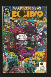 DC Comics Eclipso The Darkness Within No 2 1992