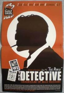 DETECTIVE Promo poster, Max Faccion, 11x17, Unused, more Promos in store
