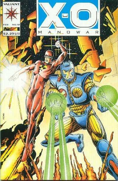 X-O Manowar (1992 series) #13, NM (Stock photo)