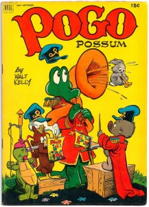POGO POSSUM #10 (July 1952) 7.0 FN/VF  52 Pages of Pure Walt Kelly Genius!