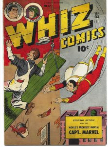 Whiz Comics #67 Fawcett Publications 1945 Captain Marvel Spy Smasher CC Beck