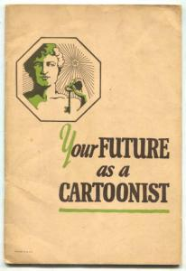 Your Future As A Cartoonist 1926- Rube Goldberg- Windsor McCay