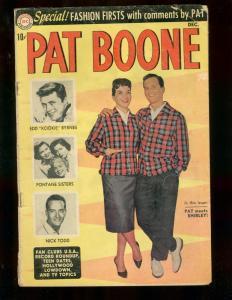 PAT BOONE COMICS #2 FONTAINE SISTERS KOOKIE BYRNES 1959 VG