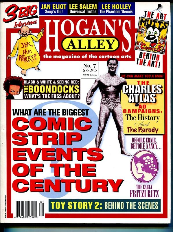 Hogan's Alley #7 2000-Charles Atlas-Mutts-Fritzi Ritz-big events of 1999-VF