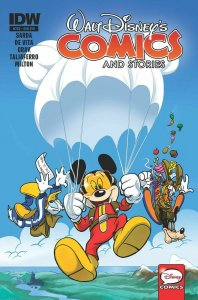 WALT DISNEY COMICS AND STORIES #722 SUBSCRIPTION COVER NM.