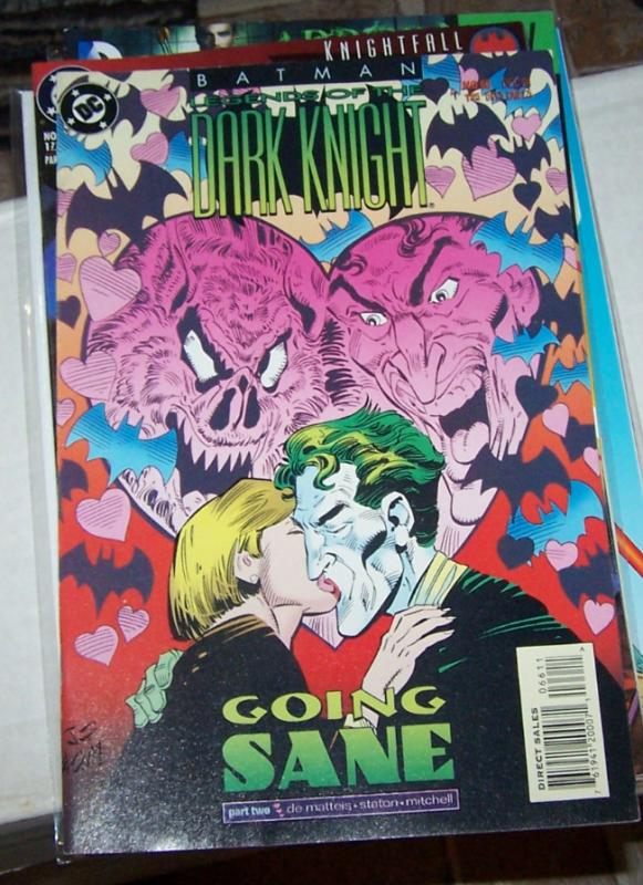 Batman: Legends of the Dark Knight #66 (Dec 1994, DC) joker going sane pt 2