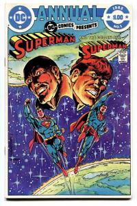 DC Comics Presents Annual #1 comic book 1982-Key Multiverse issue.
