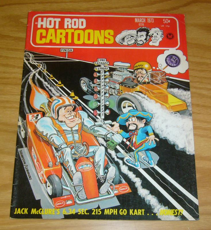 Hot Rod Cartoons #51 FN march 1973 - car toons magazine - hotrod humor mag