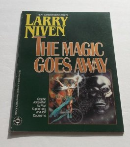 The Magic Goes Away DC Graphic Novel FN/VF Larry Niven Science Fiction 1978 Book