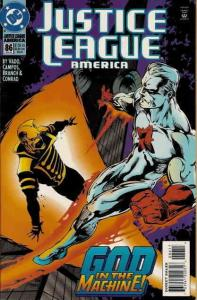 Justice League America #86 VF/NM; DC | save on shipping - details inside