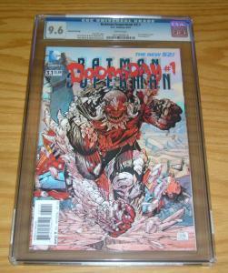 Batman/Superman #3.1 CGC 9.6 3-d lenticular cover - doomsday #1 - 2nd - greg pak
