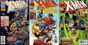 X MEN  (1991) 62-64 Games Of Deceit & Death Shang-Chi